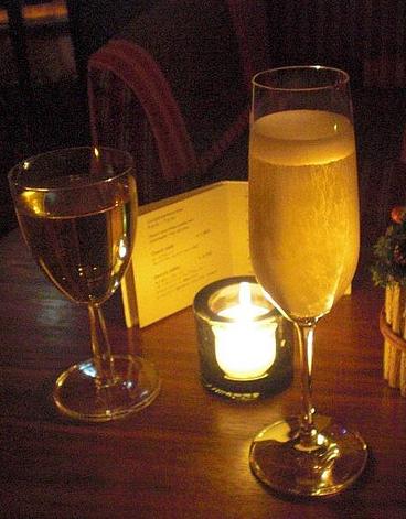 vino y champán