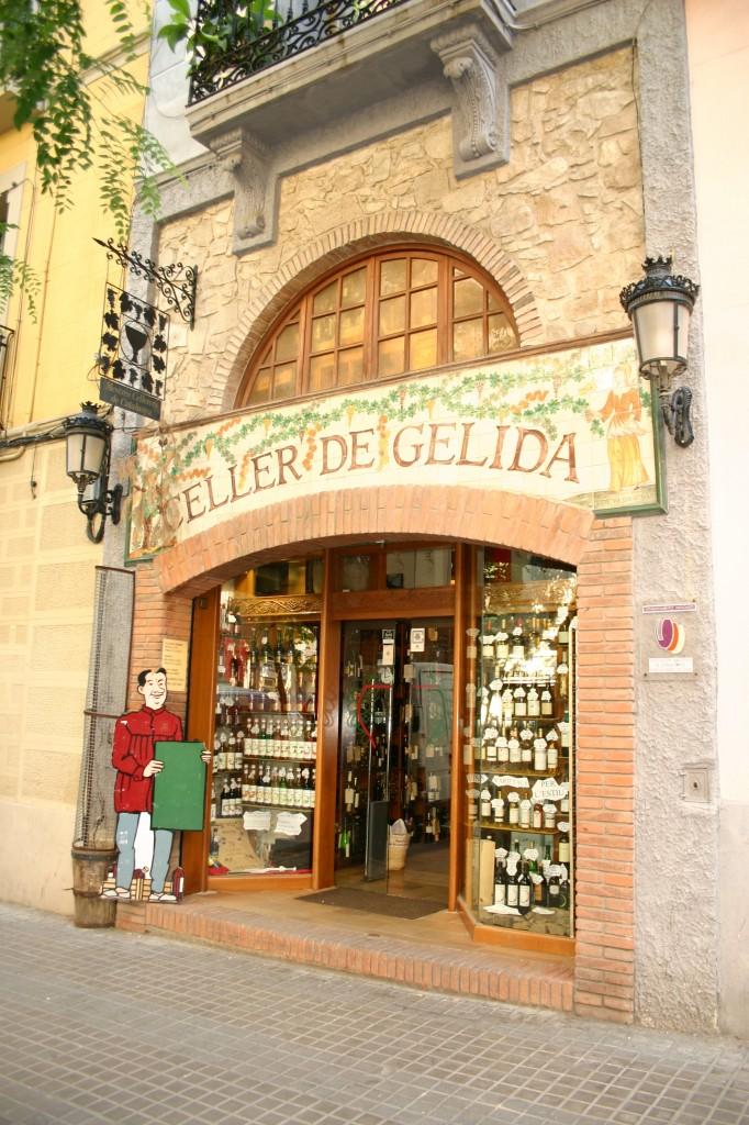Fachada del Celler de Gelida