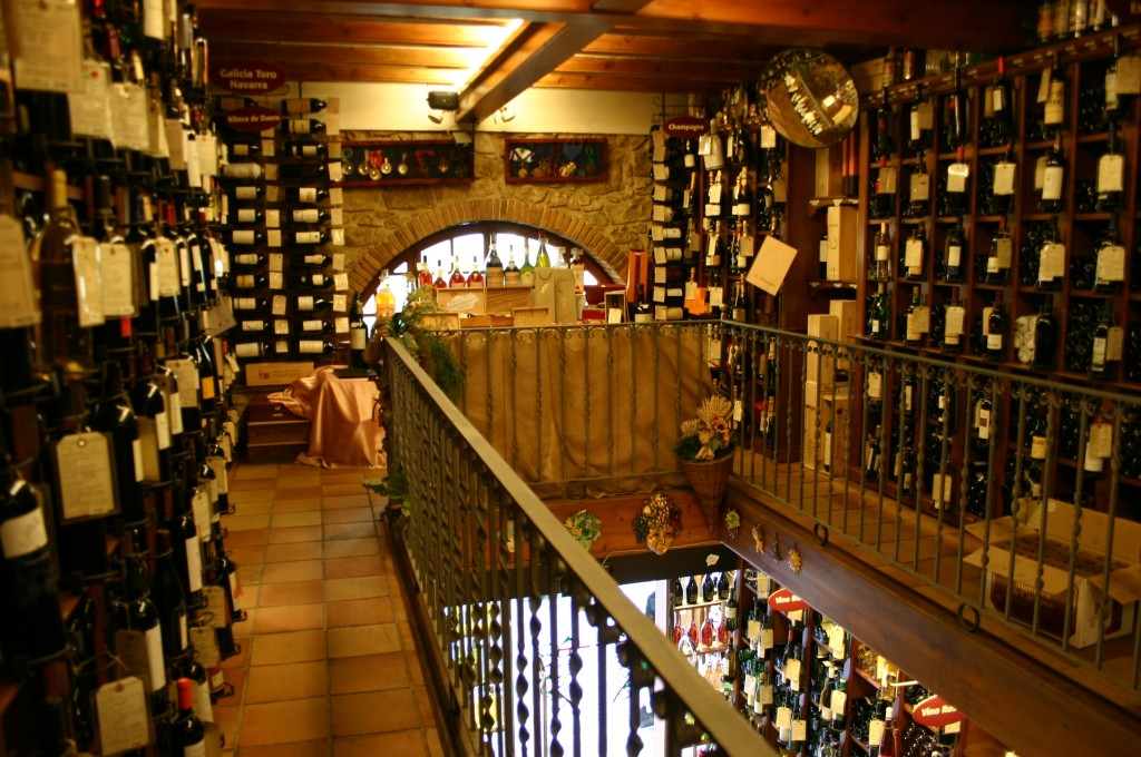 Interior del Celler de Gelida