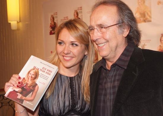 Con Joan Manel Serrat