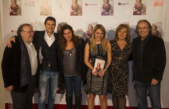 Con grandes compañeros (Foto: Pere Punti)
