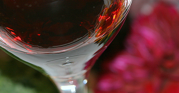 Primavera vino floral
