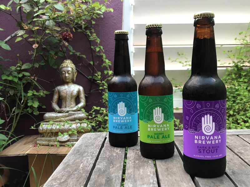 cervezas sin alcohol Nirvana Brewery