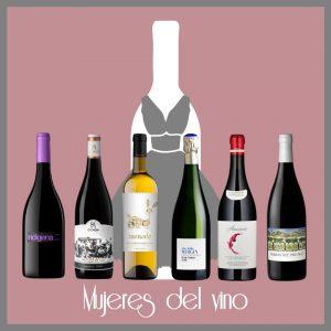 Selección de vinos en femenino