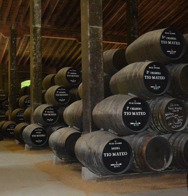 Envejecimiento de vinos de Jerez