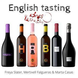 cata de vinos en inglés